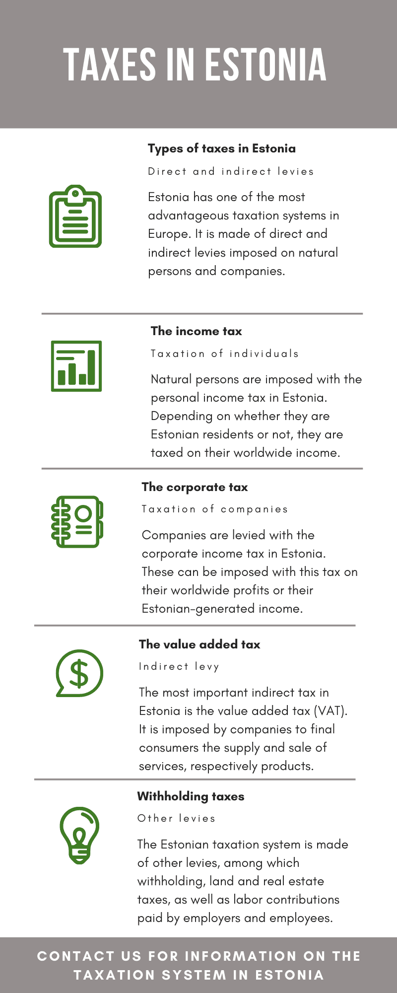 Taxes in Estonia